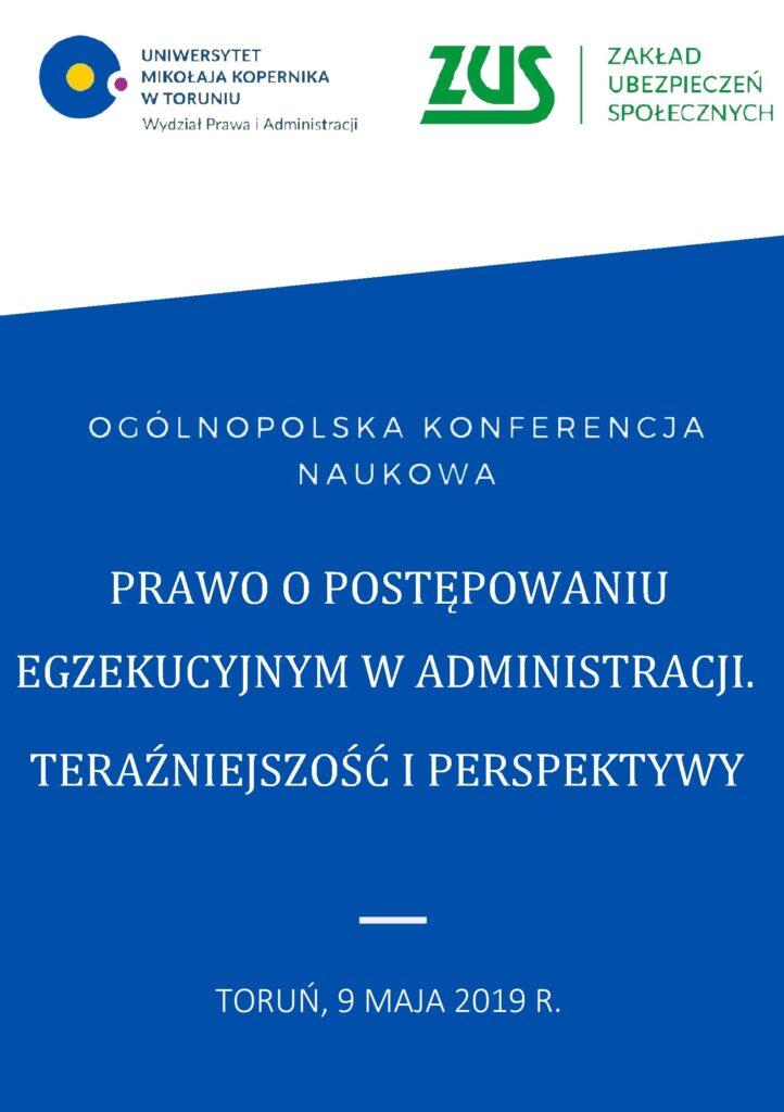 Konferencje Naukowe Wydział Prawa I Administracji